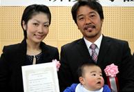 兵庫県神戸市出身 堀彰太・由佳 夫妻